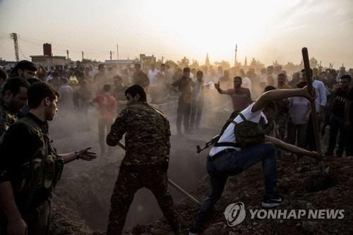 """터키 """"쿠르드족 요충지 점령"""""""